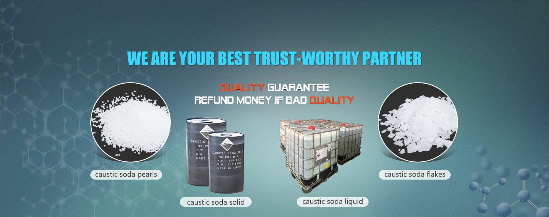 WE ARE YOUR BEST TRUST-WORTHY PARTNER
