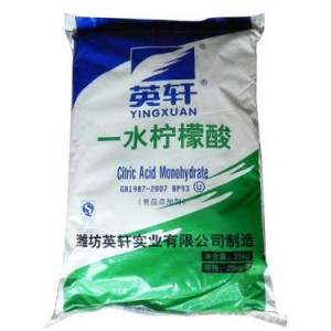 Citric Acid Monohydrate bag