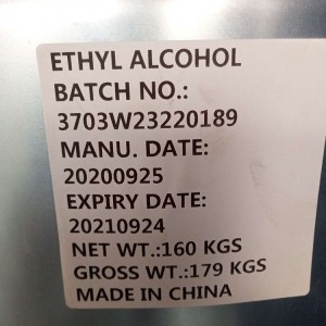 Ethyl alcohol 96% 99% and  IPA 99%