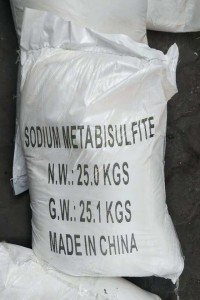 SODIUM METABISULFITE WITH HIGH QUALITY