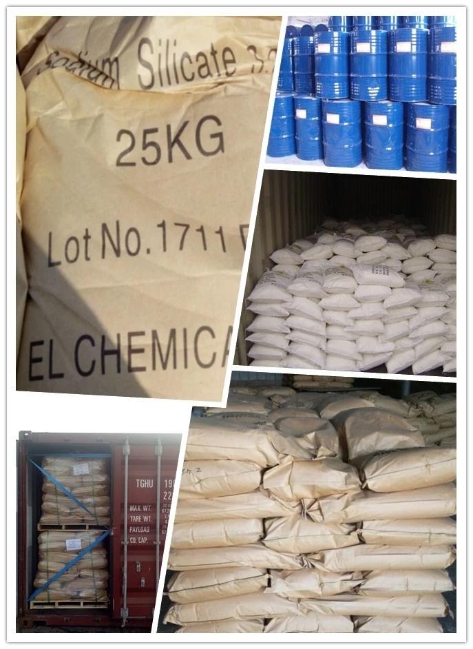 sodium silicate bag and loading